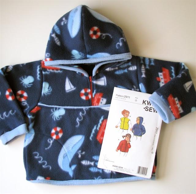 Kwik Sew Fleece For Elliot Made By Rae