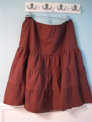 Linen Ruffle Skirt | Browse and Shop for Linen Ruffle Skirt at  www