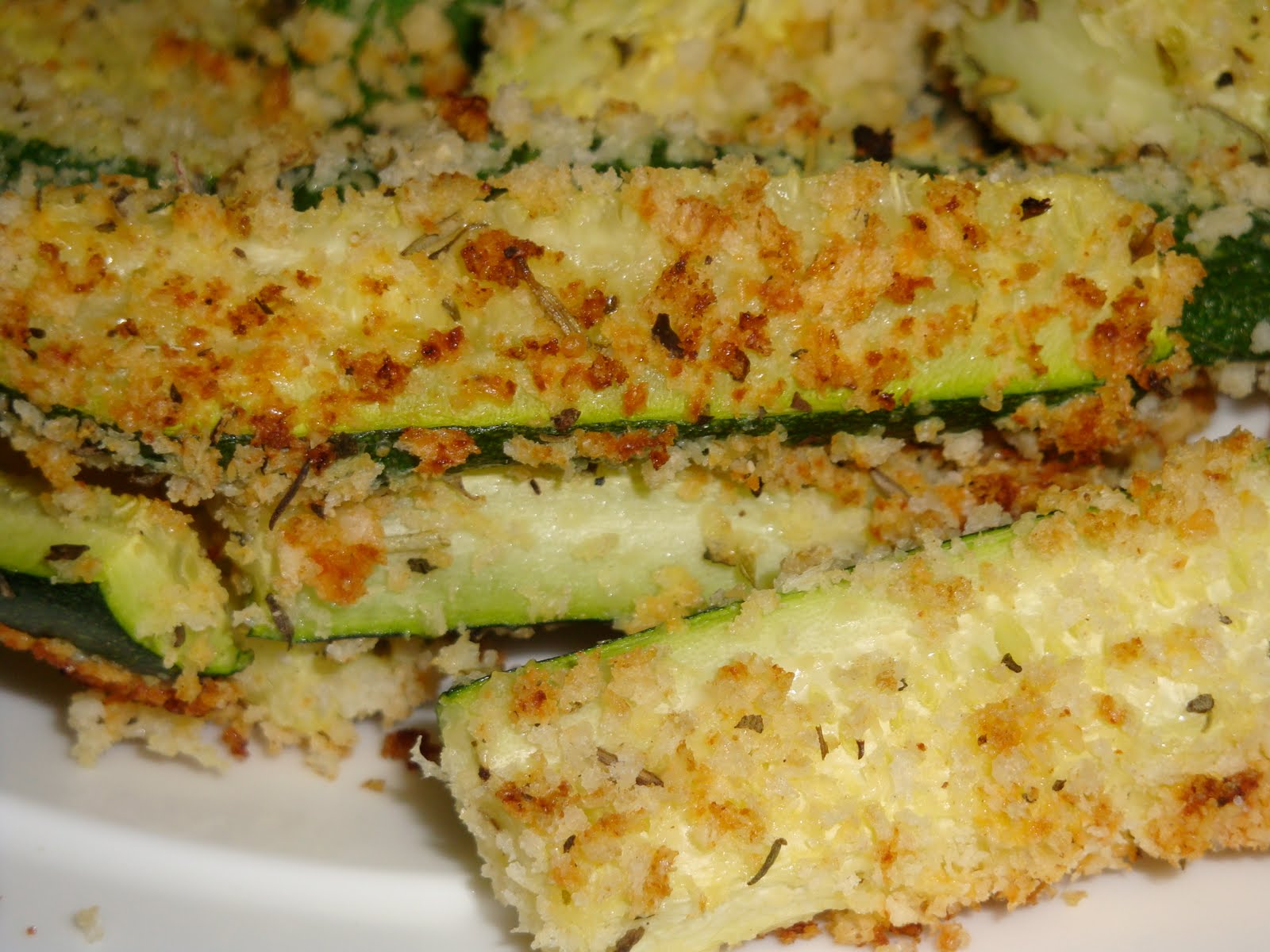 simply made with love: Baked Zucchini Sticks