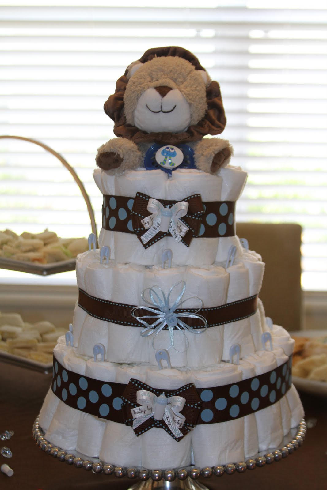 Simply Made With Love Diaper Cake Tutorial