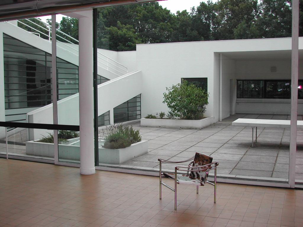 ville savoye le corbusier despiertaymira. Black Bedroom Furniture Sets. Home Design Ideas