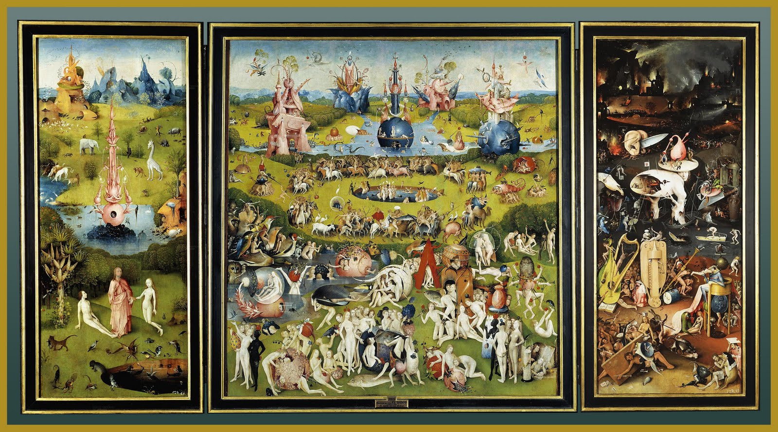 Historia del arte aldapeta el jard n de las delicias el for Jardin de las delicias zamora