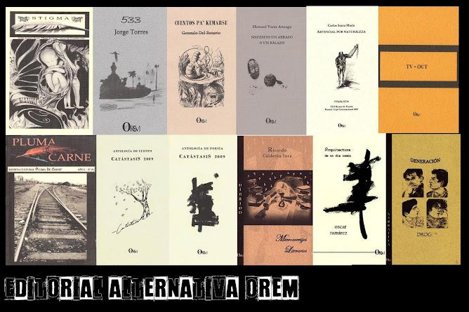 Editorial Alternativa OREM