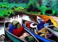 BWCA Canoes -- Original Sold