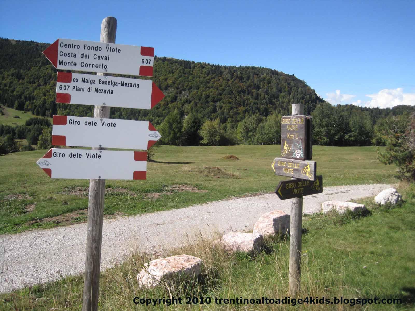 Trentino alto adige per bimbi monte bondone e viote vicino a trento - B b il giardino trento ...