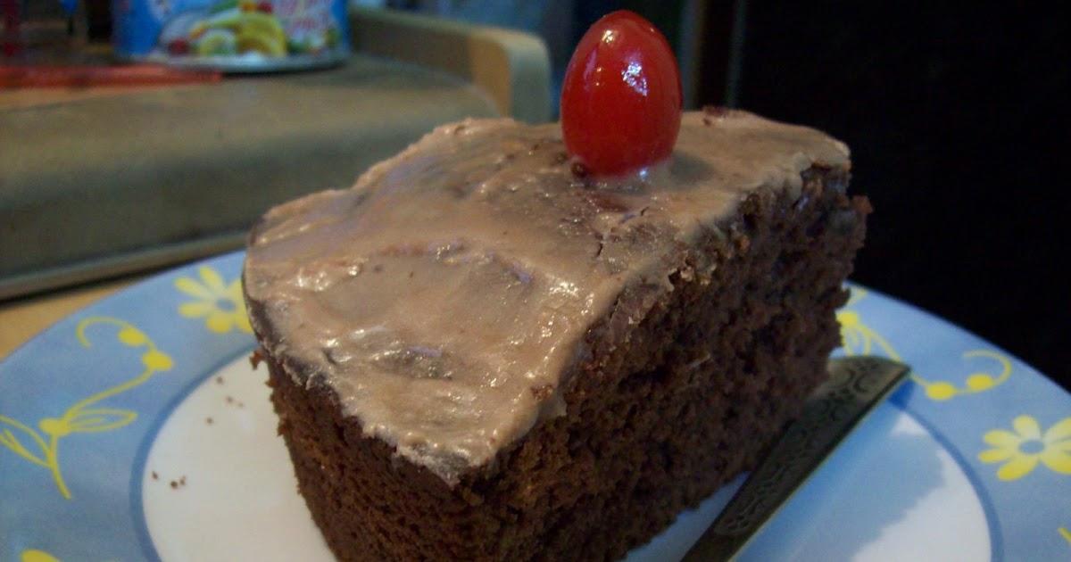 Ruchi: Eggless Choclate Cake