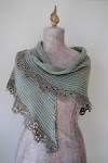 Sedna&#39;s Shawl -    knit and crochet