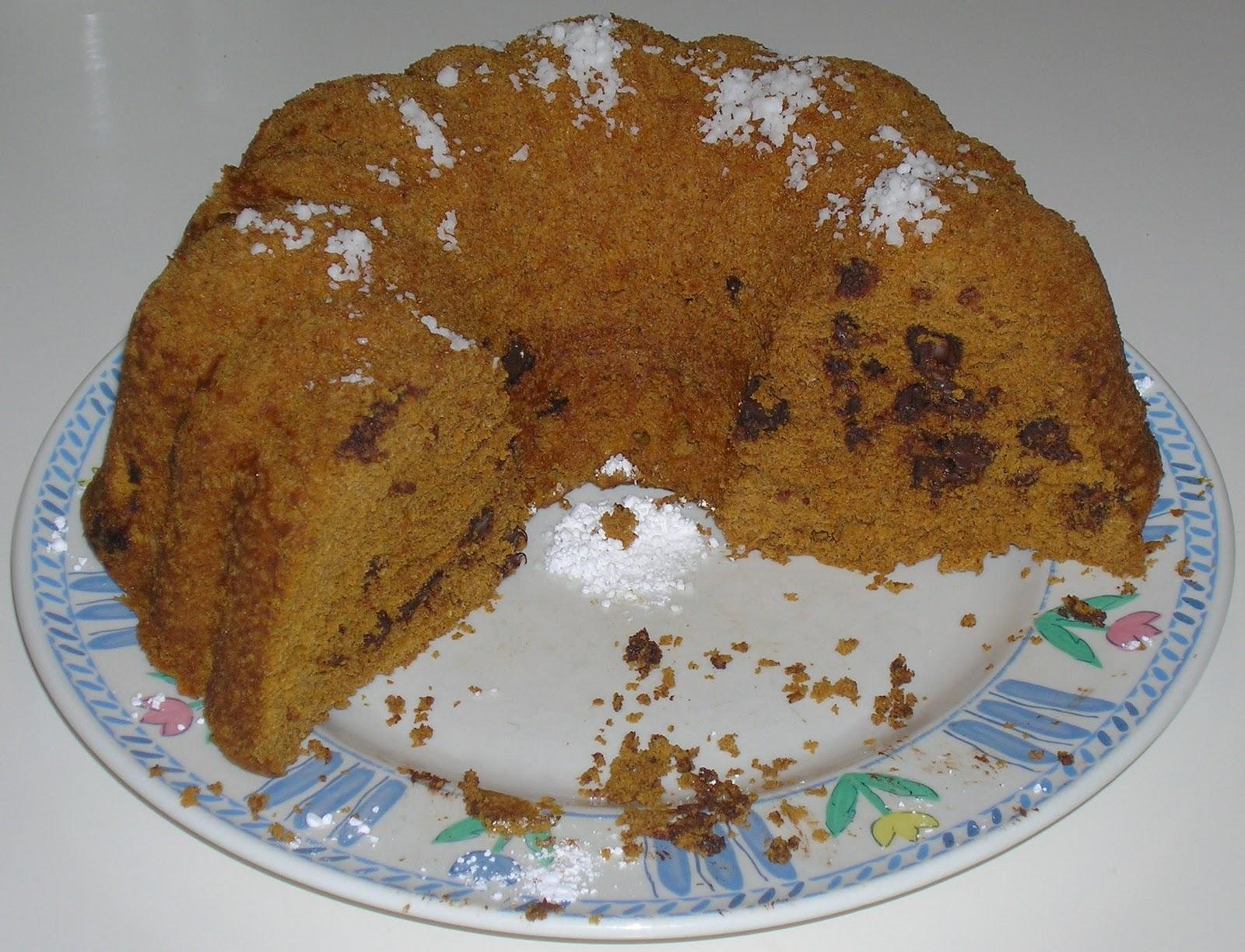 off the pumpkin recipes 12 minute chocolate chip pumpkin cake