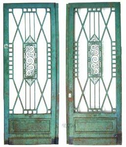 Security Door Bars