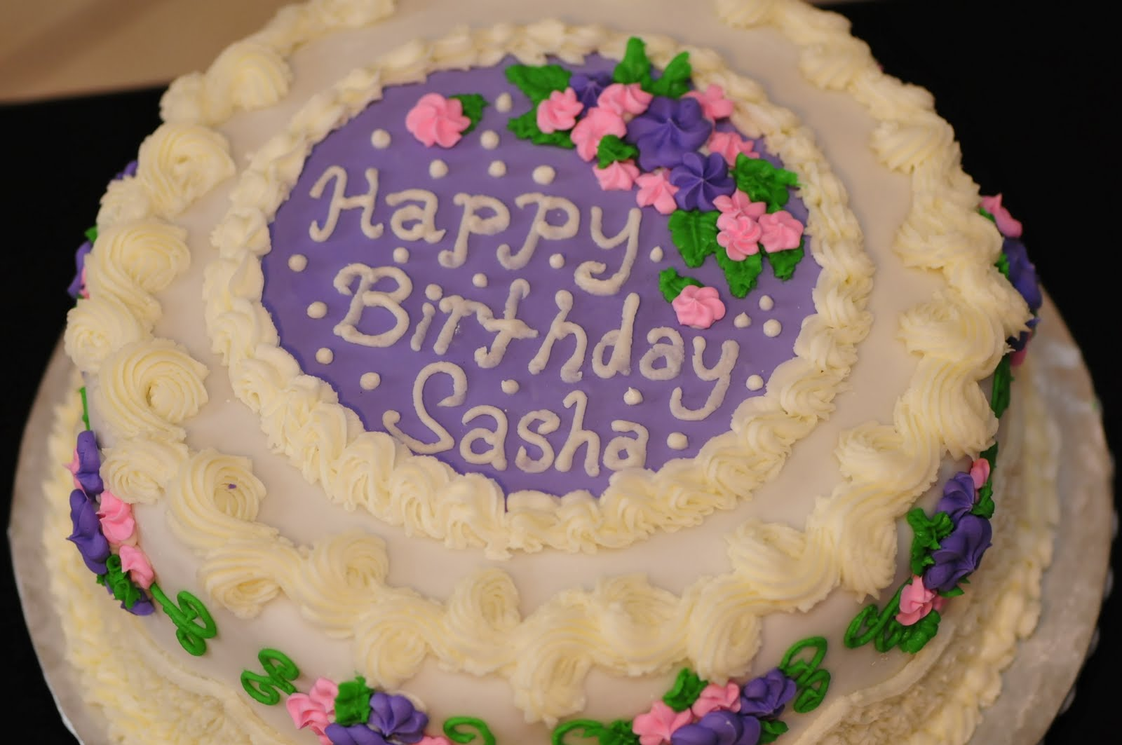 Happy Birthday Sasha Cake Brithday Cake