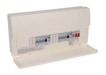 Hager Consumer Unit for home use - 17th Edition Consumer Unit, Hager 14 Way Split Load