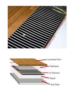 Underfloor Heating Solutions - Under Laminate Elements, Under floor heating