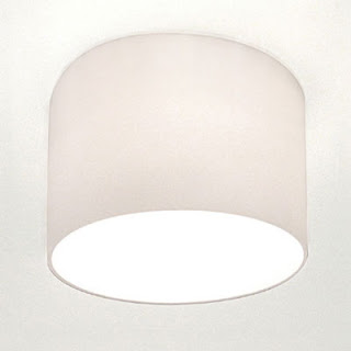 Urbino Recessed downlight with opal glass shade