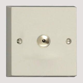 Varilight White Screwless Ultra Slim 600W 1 Gang 1-Way Remote/Touch Controlled Master Intelligent Dimmer Switch - IDQI601M