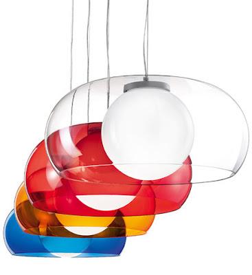 Balun Hanging Pendant, coloured popular ceiling pendant