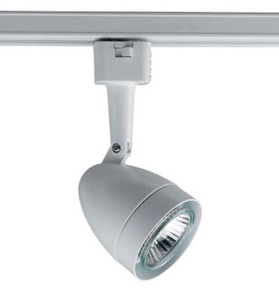 The Illuma LumaPAR Ellipse Spotlight PAR16 / GU10 Mains Track Spot - TM3410WH