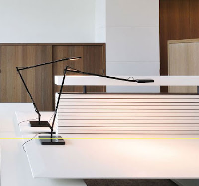 Flos Kelvin LED Desk Light - applications in public places, in libraries and bookstores