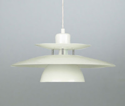 Brenda 87055 Ceiling Lamp - Brenda Rise and Fall Pendant in White Metal finish