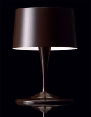 Nemo Chocolite Modern Table Lamp, Designed by Toshitaka Nakamura