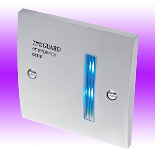 Emergency Lighting EADF1 - Single Zone Over Door Flasher For the Emergency Assist Alarm
