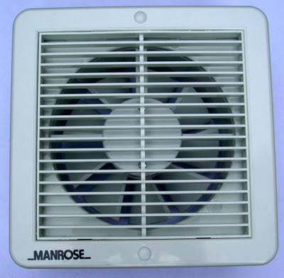 Manrose XF150T - Manrose 150MM Wall/Ceiling Extractor Fan With Electronic Timer