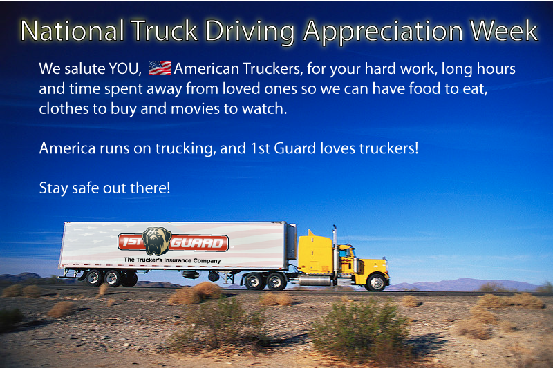 1st Guard Truck Insurance: Celebrate National Truck ...