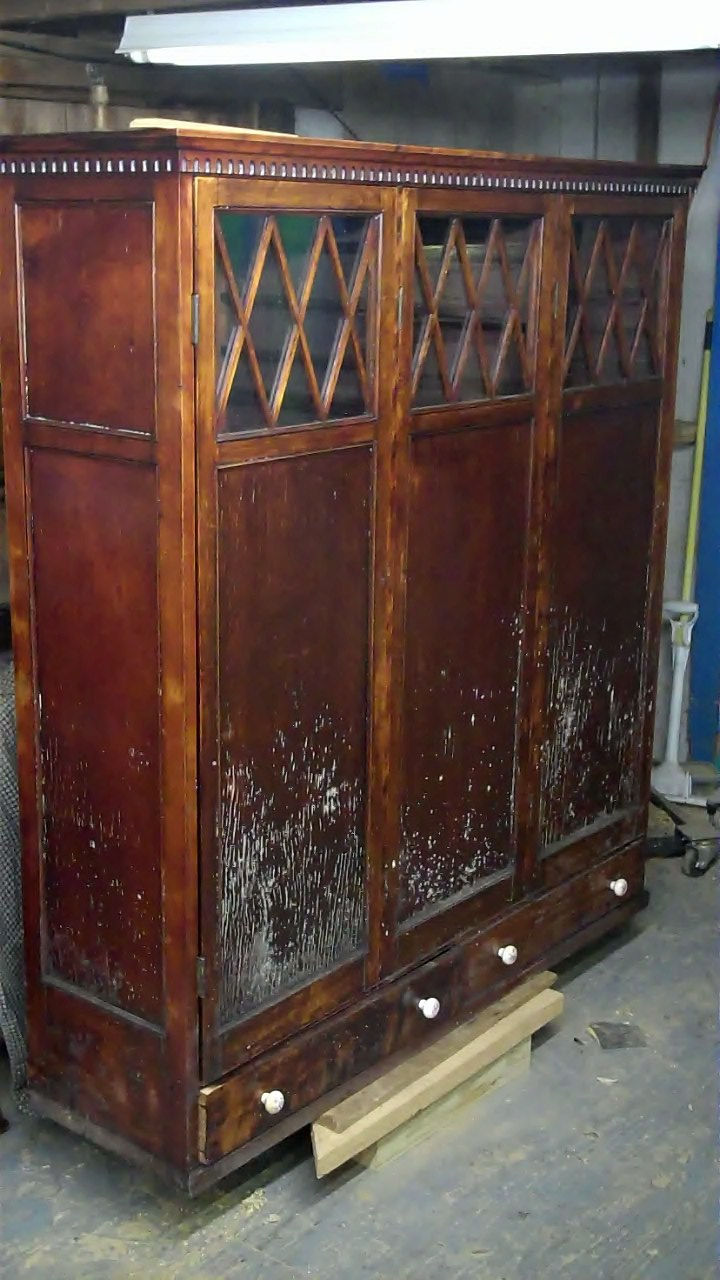 John Mark Power, Antiques Conservator: Player Piano Roll Cabinet ...