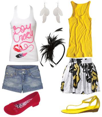 roupas para o carnaval de 2011