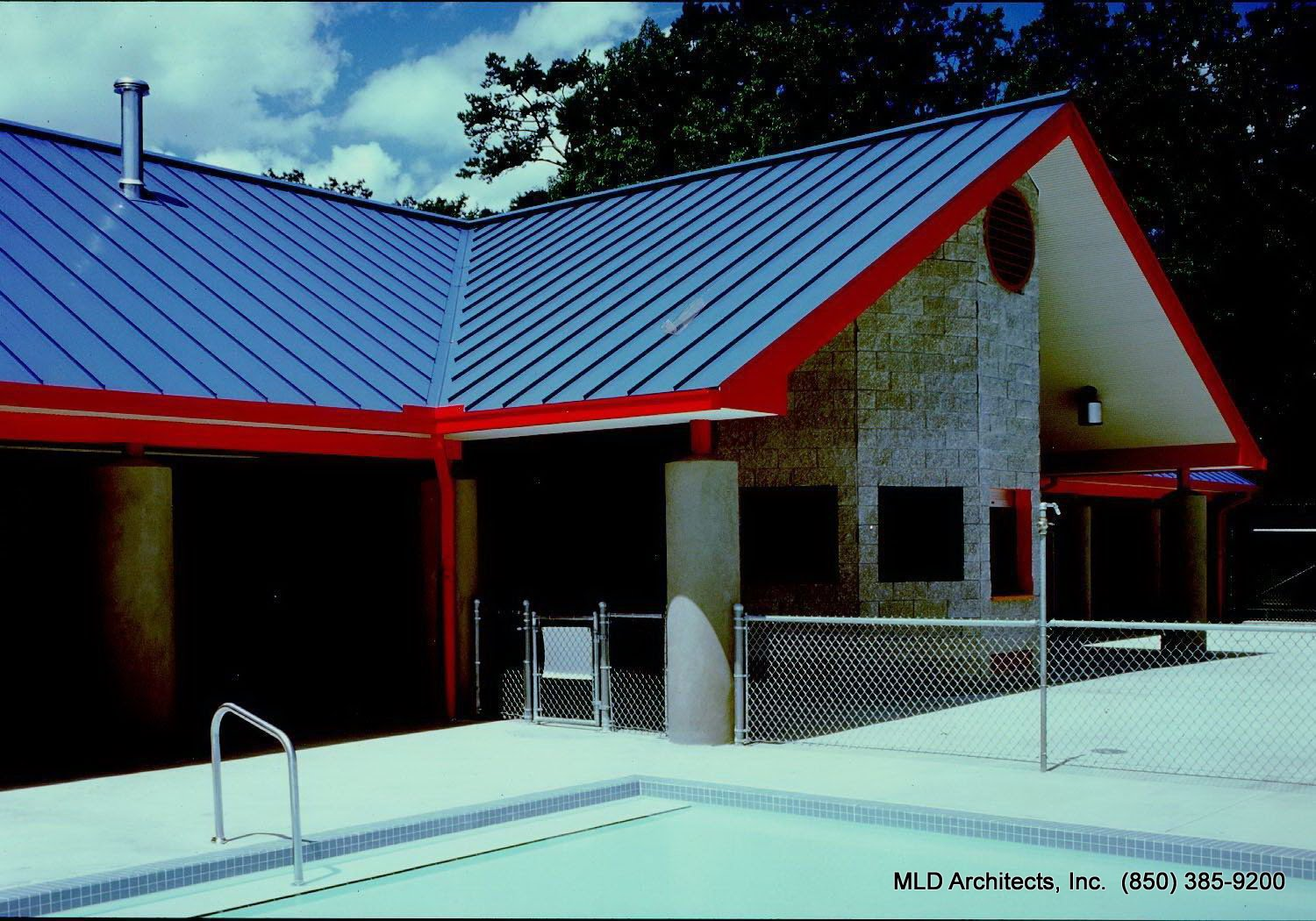 Mld Architects Inc Levy Park Pool