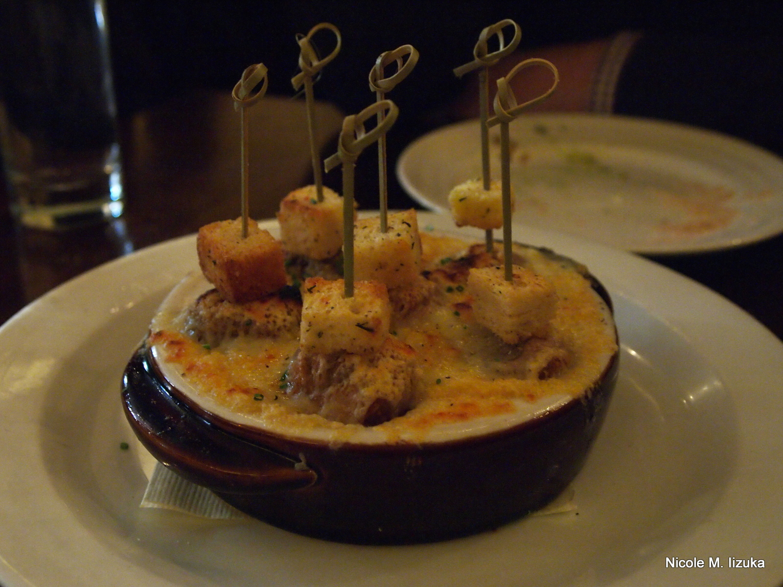 Nicole M Iizuka: French Onion Soup Dumplings: The Stanton Social