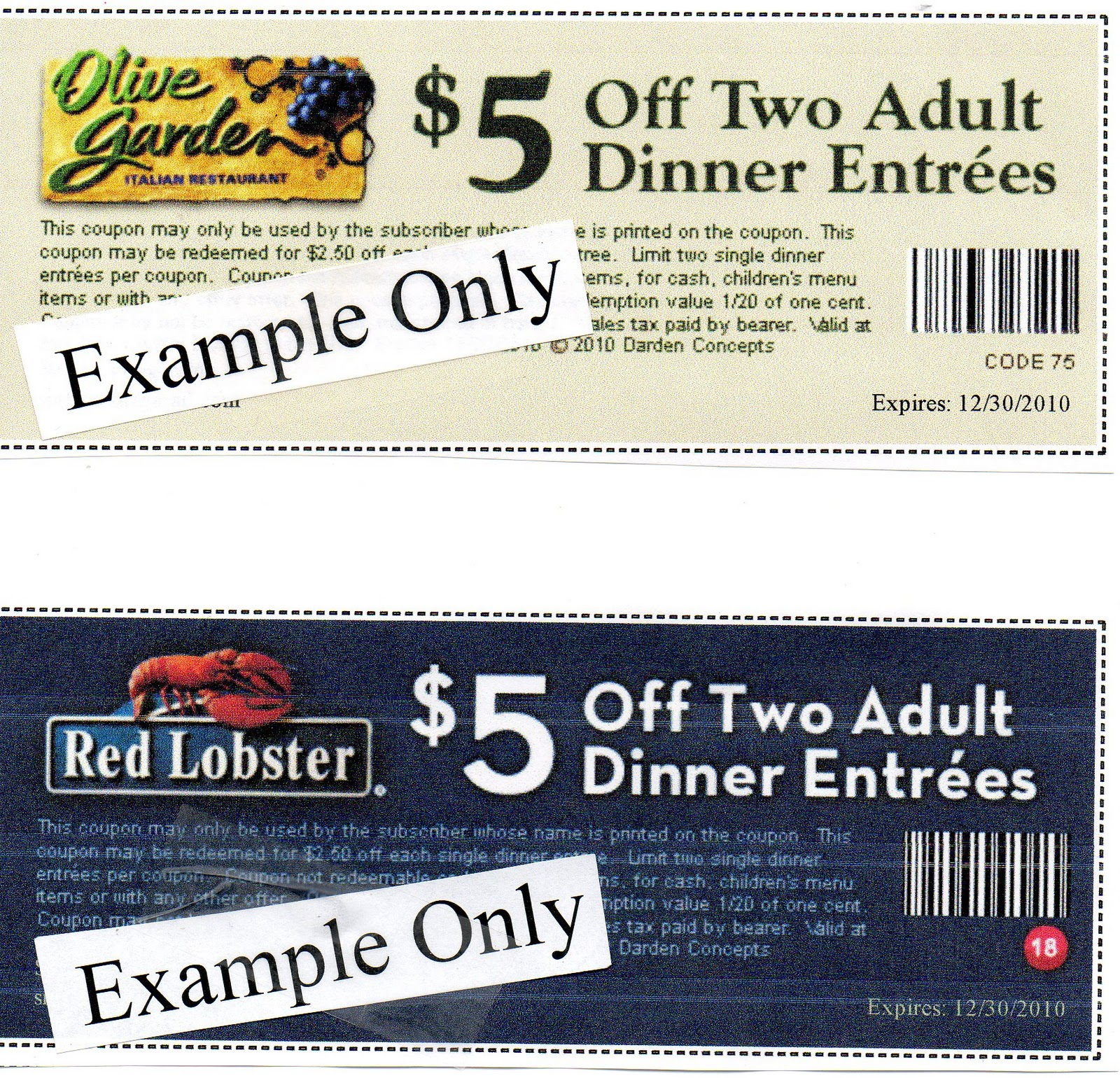 Olive Garden Coupons Lunch