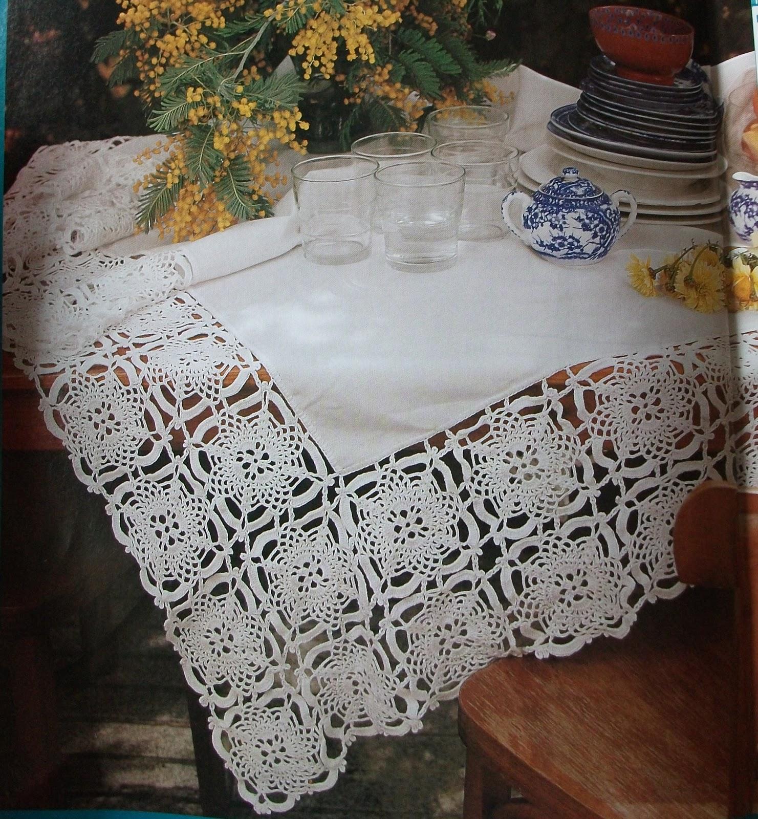 Tejidos la chinita puntilla de flores para mantel de tela - Manteles de tela ...