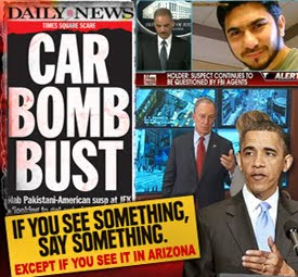Obama, Media Hypocrisy as to Arizona Law and failure to catch terrorists