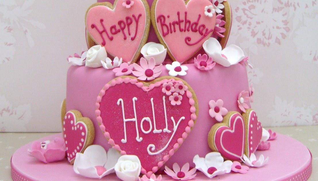 Fancy Nancy Happy Birthday Holly Bespoke Wedding Cakes