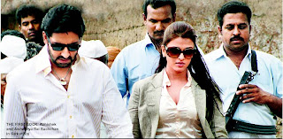 aishwarya Rai And Abhishek Bachchan on the Sets of Sarkar Raj : first Look:bollywood0