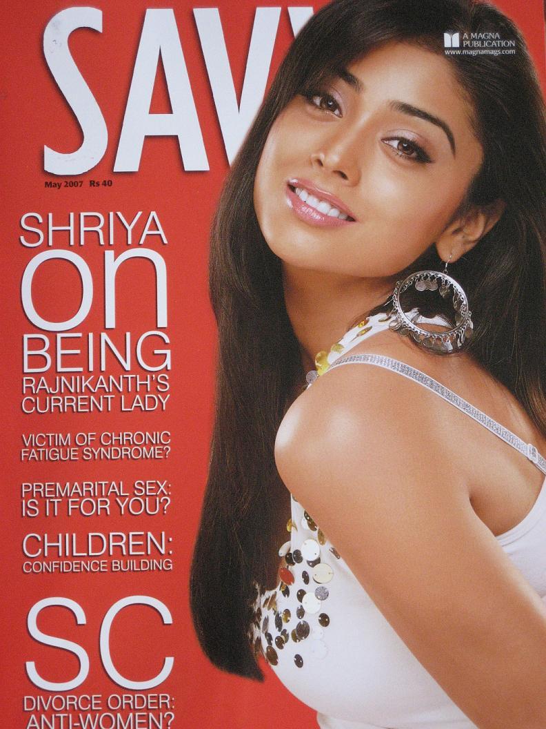 , Shriya Saran Savvy Magazine Scans