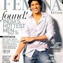 Farhan Akhtar Femina Scans | Farhan Akhtar HQ Cover Scan Femina  Feburary 2009