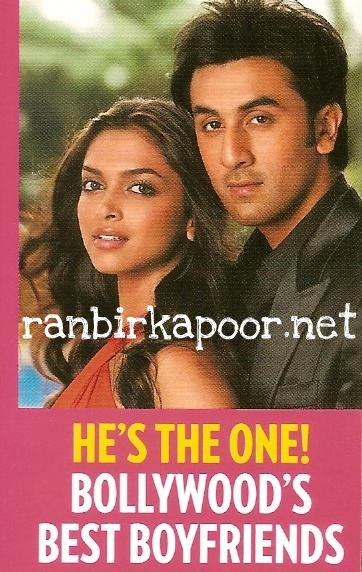 , Ranbir Kapoor Deepika Padukone Scans from People Magazine