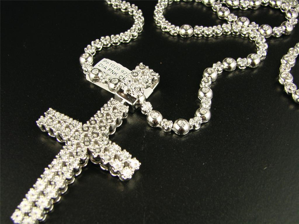 Newyorkjewels 2 Row Mens Real Diamond Cross + 1 Row. Black Band Rings. Thin Bands. Mens Diamond Necklace Chains. Emrald Rings. Jewelers Near Me. Heart Shape Rings. Pretty Ankle Bracelets. Love Chains