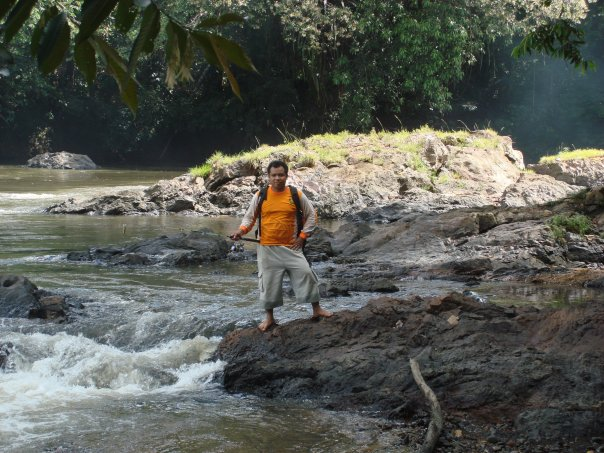 The river setongah in image