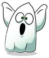 Cartoon Halloween GhostsCartoon Halloween Ghosts