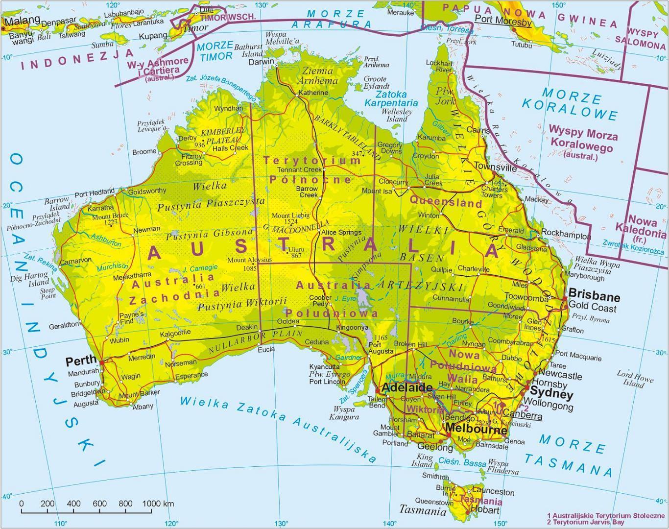 Mapa De Sydney Australia