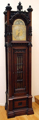 1905 grandfather clock by Waltham Clock Company