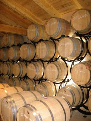 Casa Rondeña Wine Barrels