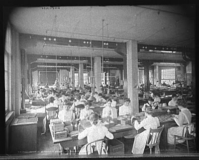 NCR workers, Dayton, Ohio, 1902