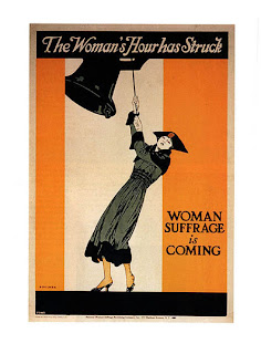 Suffrage Poster, New York, 1917