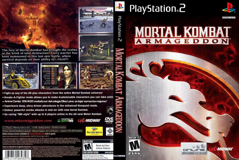 "Mortal Kombat Armageddon Ps2 Fatalities bkGamerBrasil ""No..."