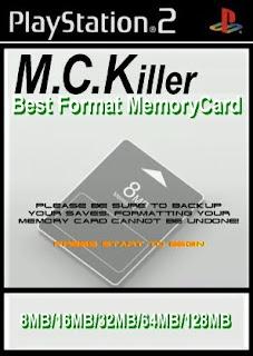 Tutorial: Formatando Memory Card (MC Killer)