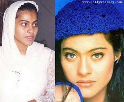 heroines without makeup. Kajal devgan without makeup