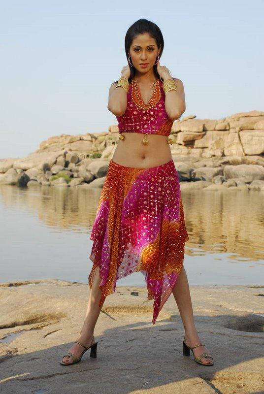 telugu actress wallpaper. Telugu actress Sada Navel
